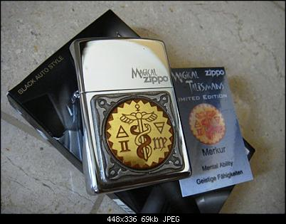 Click image for larger version.  Name:Zippo Magical Talisman th. $.   (1).JPG Views:3 Size:68,6 KB ID:10471