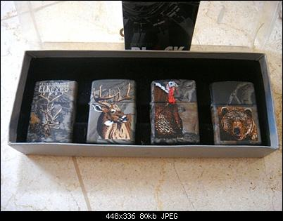 Click image for larger version.  Name:Zippo Lighters New In Box Bill Jordan's Realtree Camouflage th.2001 $ (1).JPG Views:18 Size:79,7 KB ID:9209