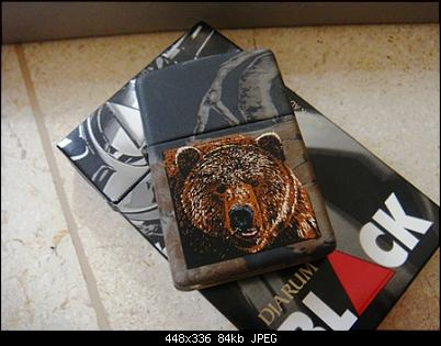 Click image for larger version.  Name:Zippo Lighters New In Box Bill Jordan's Realtree Camouflage th.2001 $.(5).JPG Views:11 Size:84,2 KB ID:9213